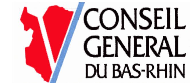Logà du conseil général du Bas-Rhin